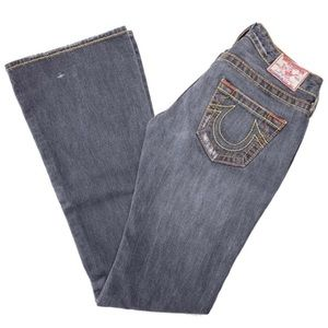 TRUE RELIGION Bobby Big T Distressed Jeans